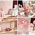 婚禮佈置‧0119板橋典華‧粉紅禮物浪漫國度