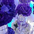 婚禮佈置‧2014.02.25新莊大宅門‧璀璨華麗紫色情懷