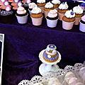 婚禮佈置‧2014.03.16中和水漾‧紫有幸福貓咪宴會