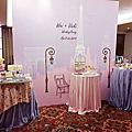 婚禮佈置‧2014.04.26高雄義大皇家‧巴黎鐵塔下的香榭午茶