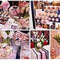 婚禮佈置‧2014.05.17鶯歌金龍鳳‧微甜現代上海雜誌婚日