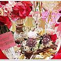 婚禮佈置‧Nov 16, 2014新竹喜來登‧永恆閃耀西式紙花宴
