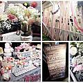 婚禮佈置‧Dec 06, 2014台北青青食尚花園‧美式復古婚禮Party