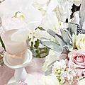 婚禮佈置‧Dec 20, 2014台北華泰王子‧初雪星空紙花下的仰望