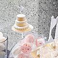婚禮佈置‧May 30, 2015遠企香格里拉‧白色戀人的幸福城堡