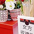 婚禮佈置‧Jul 26, 2015新莊晶華亭‧米奇米妮俏皮小花園