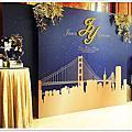 婚禮佈置-Oct 25, 2015台北大倉久和‧夜幕舊金山