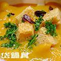 烘焙魔法師<佛羅倫斯海鮮南瓜湯&羅勒番茄麵包   >