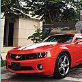 Chevolet Camaro LT RS 10 橘紅