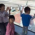 2017.2.19坐捷運看飛機