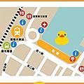 黃色小鴨地圖