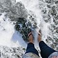 【花蓮。新城】花蓮的海藍的太迷人。 曼波海灘