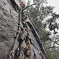 【台中。和平】險峻危崖挑戰你的膽量。 鳶嘴山步道