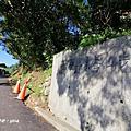 【新北。八里】些許竹林夾道。 風櫃斗湖步道