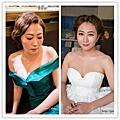 (婚紗造型)韓國復古波紋+乾淨髮髻