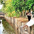 高雄自助婚紗攝影作品:綠映森林