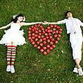 高雄創意婚紗攝影:LOVE 蘋果