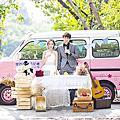 高雄婚紗|創意婚紗|麵包車|胖卡|T1廂型車
