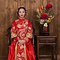 高雄婚紗|旗袍禮服|龍鳳褂|繡禾服