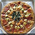 達美樂『什錦龍蝦比薩』|產品試吃︱美食王國