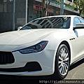 2014 Maserati Ghibli base 白/黑 #107823