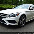 2015 Mercedes-Benz C300 4matic 白/黑 #026874