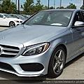 2015 Mercedes-Benz C300W2 銀/黑 #083485 (CPO)
