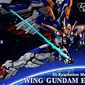 HiRM Hi-Resolution Model Wing Gundam EW 飛翼剛彈 再製作完成