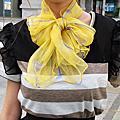 絲巾打法-蝴蝶結