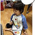 3歲的安娜猴