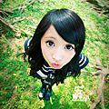2009-10-小安 水手服 in 大湖公園