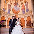 ☆婚攝.志輝&佩怡,婚禮攝影記錄(樹林聖心堂-教堂儀式篇)☆