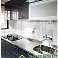 綠林精品廚具 新北市土城區中華路二段沈先生 一字型215cm廚具