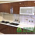 綠林精品廚具 桃園市龍潭區中原路一段張小姐 一字型260cm廚具