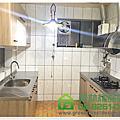 綠林精品廚具 台北市士林區芝玉路黃先生 二字型193+193cm廚具