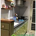 綠林精品廚具 新北市板橋區龍興街張小姐 一字型206cm廚具