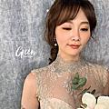 綠✰郁欣婚紗造型