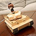 黏土人配件系列 虎式戰車