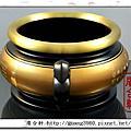 雙色5寸3一級福壽祖爐