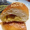 葡萄奶酥麵包VS爆漿巧克力麵包&自製愛玉(蜂蜜檸檬愛玉)~