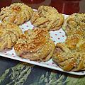 芋泥麵包(液種)&桂圓核桃麵包(液種)~