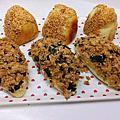 花生麵包&肉鬆麵包~
