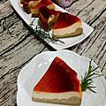 抹茶雙層巴斯克焦香乳酪蛋糕&巧克力蛋糕捲~