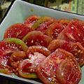 蜜番茄及番茄炒蛋