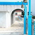 希臘地中海風  台中龍井  麗水漁港