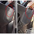 吉米汽車凹痕修復-Volvo S60 後尾門菱線凹痕處理 汽車鈑金凹痕修復專家 微鈑金