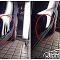 吉米汽車凹痕修復-Bmw 2GT 車門下緣鈑金凹痕回復 汽車凹痕回復專家