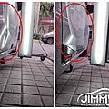 吉米汽車凹痕修復-Toyota Altis 車門下緣鈑金凹痕修補 局部凹痕處理