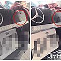吉米汽車鈑金凹痕修復-Mercedes Benz W213 E250 AMG 尾門鋁鎂合金鈑金凹痕處理 微鈑金