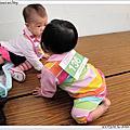 1007[嬰兒與母親] 2011台北世貿寶貝趣味賽 參賽者:136寶貝晴